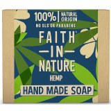 Faith in Nature Hand Made Soap with Hemp - 100g