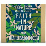Faith in Nature Hand Made Soap with Neem - 100g