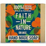 Faith in Nature Hand Made Soap with Cleansing Orange - 100g
