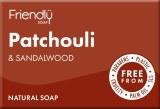 Patchouli & Sandalwood Soap Bar | Plastic Free | Cruelty Free