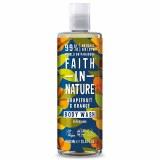 Faith in Nature Grapefruit & Orange Body Wash | 99% Natural Origin, Vegan