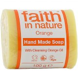 Faith in Nature Hand Made Soap with Cleansing Orange Oil