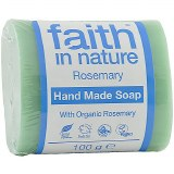 Faith in Nature handmade Soap with Organic Rosemary