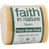 Faith in Nature Hand Made Neem Soap Infused with Citrus Oils