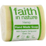 Faith in Nature Hand Made Soap with Organic Hemp & Green Tea