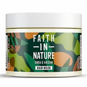 Faith in Nature Shea & Argan Hair Mask - 300ml