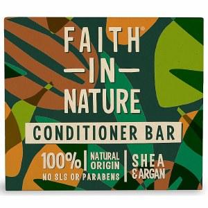 Faith in Nature Shea & Argan Conditioner Bar | Plastic Free