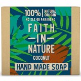 Faith in Nature Hand Made Coconut Soap Bar  - 100g