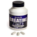 Health Aid Creatine Monohydrate Tablets 1000mg - Pack of 60