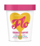 Flo Brilliantly Organic Tampon Combination Pack with Applicators | Cruelty Free | BPA Free