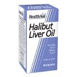 Health Aid Halibut Liver Oil Capsules - 90's