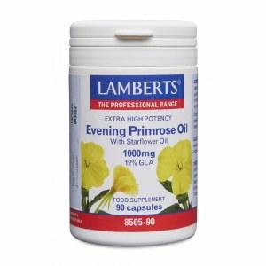 Lamberts Evening Primrose & Starflower Oil - 90 Capsules