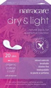 Natracare Dry & Light Pads - Slim