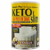 Nature's Plus Ketoslim Low Carb Vanilla Flavoured Protein Shake