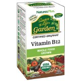 Nature's Plus Source of Life Garden Certified Organic & Whole Food Grown Vitamin B12 Capsules