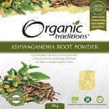 Organics Traditions Ashwagandha Root Powder (200g)