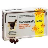 Pharma Nord Bio-Vitamin D3 5000iu - 40 Capsules