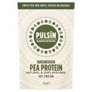Pulsin Plant Based Pea Protein Powder - 250g