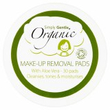 Simply Gentle Organic Cosmetic Lotion Pads