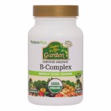 Nature's Plus Source of Life Garden B Complex - 60 Capsules | Organic, Vegan & Whole Food Grown