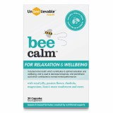 Bee Calm Capsules for Relaxation & Wellbeing - 20 Capsules