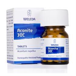 Weleda Aconite Tablets 30C - 125 Tablets