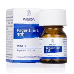 Weleda Argent Nit Tablets 30C - 125 Tablets