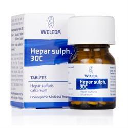 Weleda Hepar Sulph Tablets 30C - 125 Tablets
