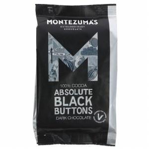 Montezuma's Absolute Black Buttons Dark Chocolate