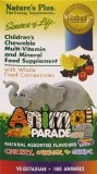 Animal Parade Chewable Multi - Assorted | 180 Animals