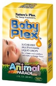 Nature's Plus Baby Plex Multivitamin Liquid Drops - 60ml