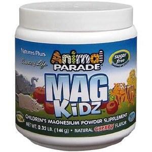 Animal Parade Mag Kidz Children's Magnesium Powder Supplement | Natural Cherry Flavour