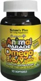 Animal Parade Omega 3/6/9 Fatty Acid Complex for CHildren | 90 Softgels
