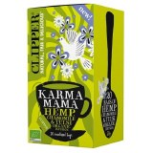 Clipper Karma Mama Hemp Chamomile & Tulsi Tea Bags x 20