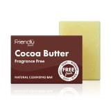 Friendly Soap Cocoa Butter Cleansing Bar - 95g