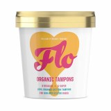 Flo Brilliantly Organic Tampon Combination Pack | Non-Applicator | BPA & Cruelty Free
