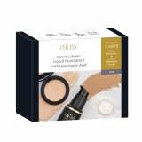 Inika Fresh & Flawless Liquid Foundation Set - Tan