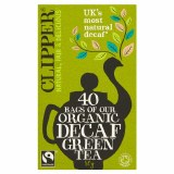 Clipper Organic Decaf Green Tea - 40 Teabags