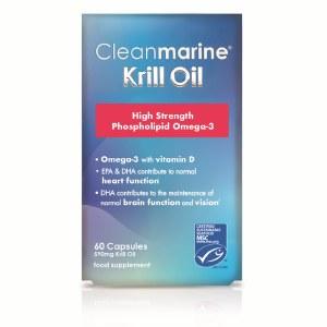 Cleanmarine Krill Oil Capsules - 60's
