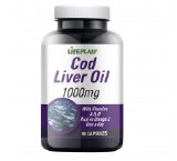 Lifeplan Cod Liver Oil 1000mg - 90 Capsules