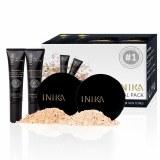 Inika Certified Organic Trial Kit for Face - Light Skin