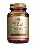 No Flush Niacin 500mg 50 Capsules