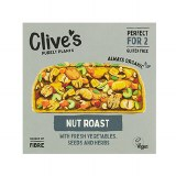 Clive's Organic Nut Roast with Fresh Vegetables, Seeds & Herbs