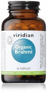 Viridian Organic Brahmi Leaf | 60 Vegan Capsules