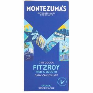 Montezuma's Organic Fitzroy 74% Dark Chcolate
