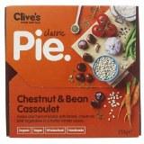 Clive's Organic Chestnut & Bean Pie Vegan