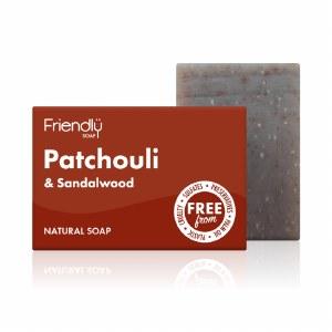Friendly Soap   Patchouli & Sandalwood Soap Bar