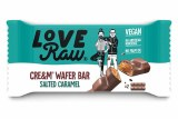 LoveRaw Salted Caramel Cre&m Filled Wafer Bars - 45g