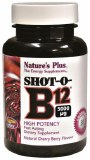 Nature's Plus Shot-O-B12 | High Potency B12 Lozenges