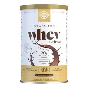 Solgar Whey To Go Protein Powder - Chocolate Flavour Protein 377g